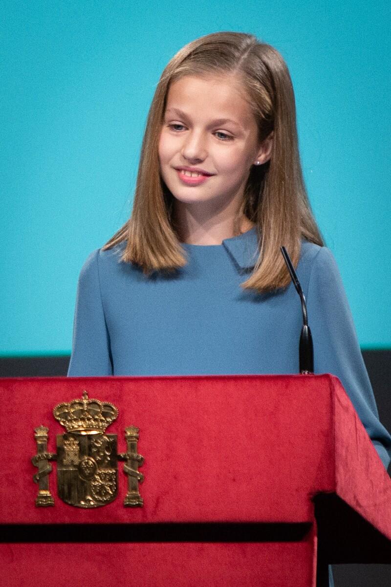 Princesa Leonor primer discurso 31 octubre 18