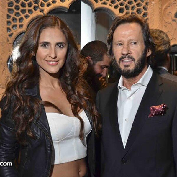 Erika Ramírez y Rafael Ambrosi