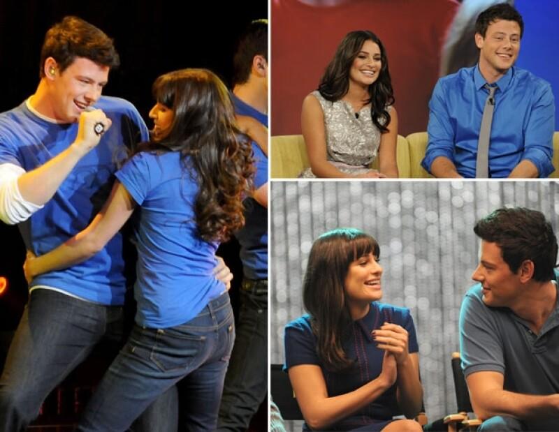 El flechazo se dio en la serie Glee.
