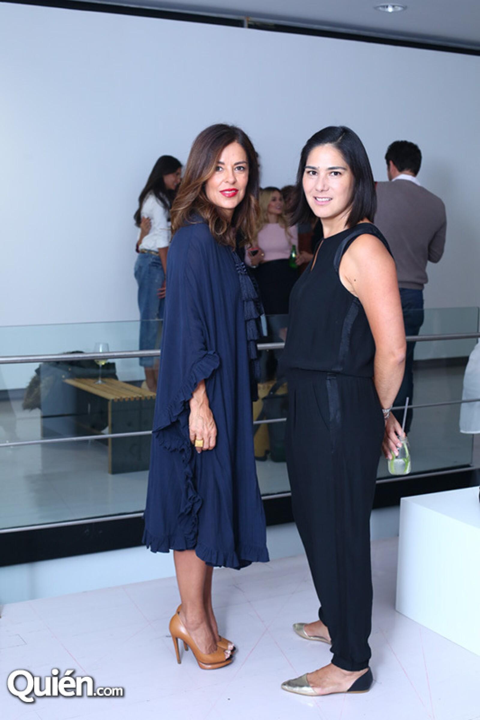 Karen Serdio y Fernanda Rangel