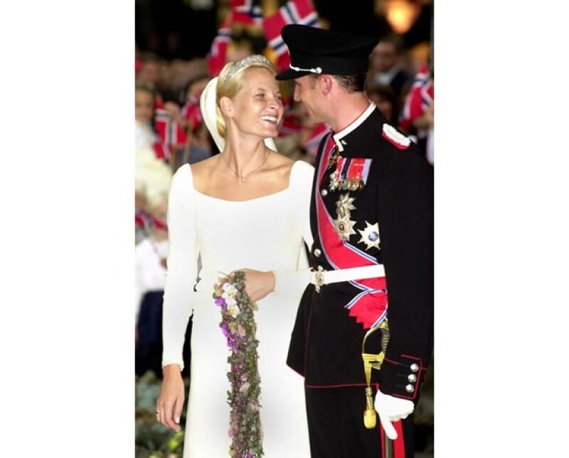 La pareja contrajo nupcias en 2001.