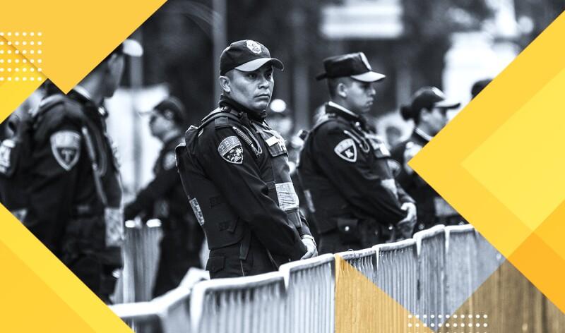 Policías capitalinos