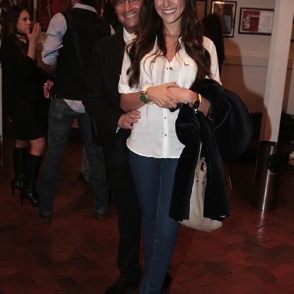 Andrés Roemer y Natalia Farías