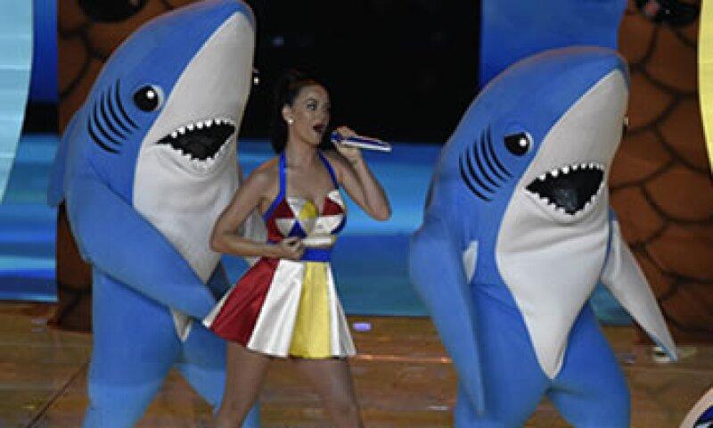 El show de Katy Perry generó 284,000 tuits por minuto. (Foto: Reuters )