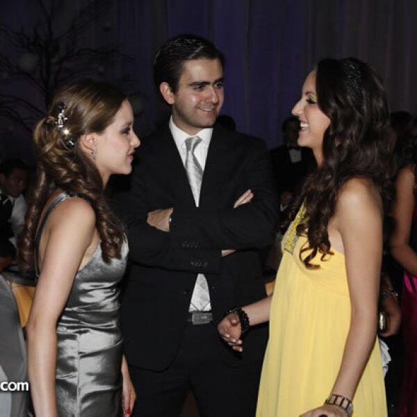 Fernanda Lugo,Alejandro Alfonso y Rocío Rodríguez