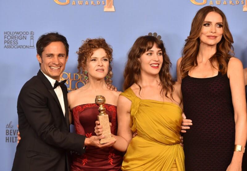 Emocionados y muy orgullosos, estas fueron las primeras palabras de los mexicanos tras triunfar la noche de ayer en la premiación que organiza la Asociación de la Prensa Extranjera de Hollywood.