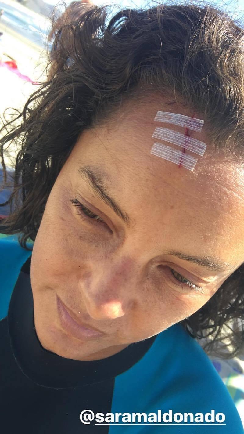 Sara Maldonado accidente