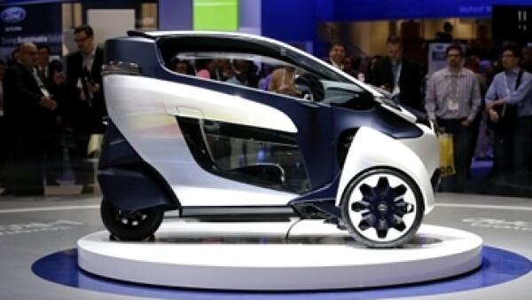 Auto de 3 ruedas