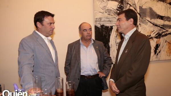 Tomas Span, Joaquín Brockmann y Brian O´Hea