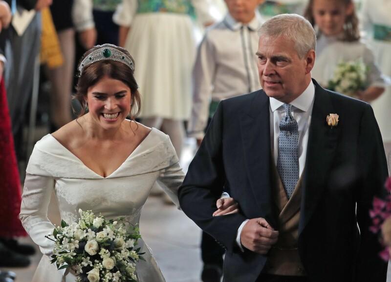 Princesa Eugenia y el príncipe Andrés