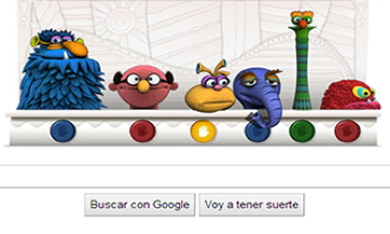 Los coloridos personajes que conforman el doodle se acompañan de seis botones que al ser presionados activan su movimiento. (Foto: Especial)