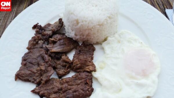 carne frita Filipinas
