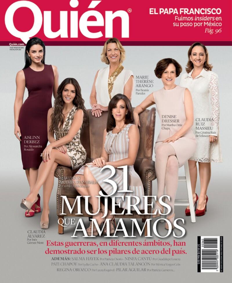 ¡Seis años, seis mujeres! Por sexto año consecutivo, reconocemos la ardua labor de las 31 mujeres que, con su talento y trabajo, han hecho de México un mejor lugar para vivir.