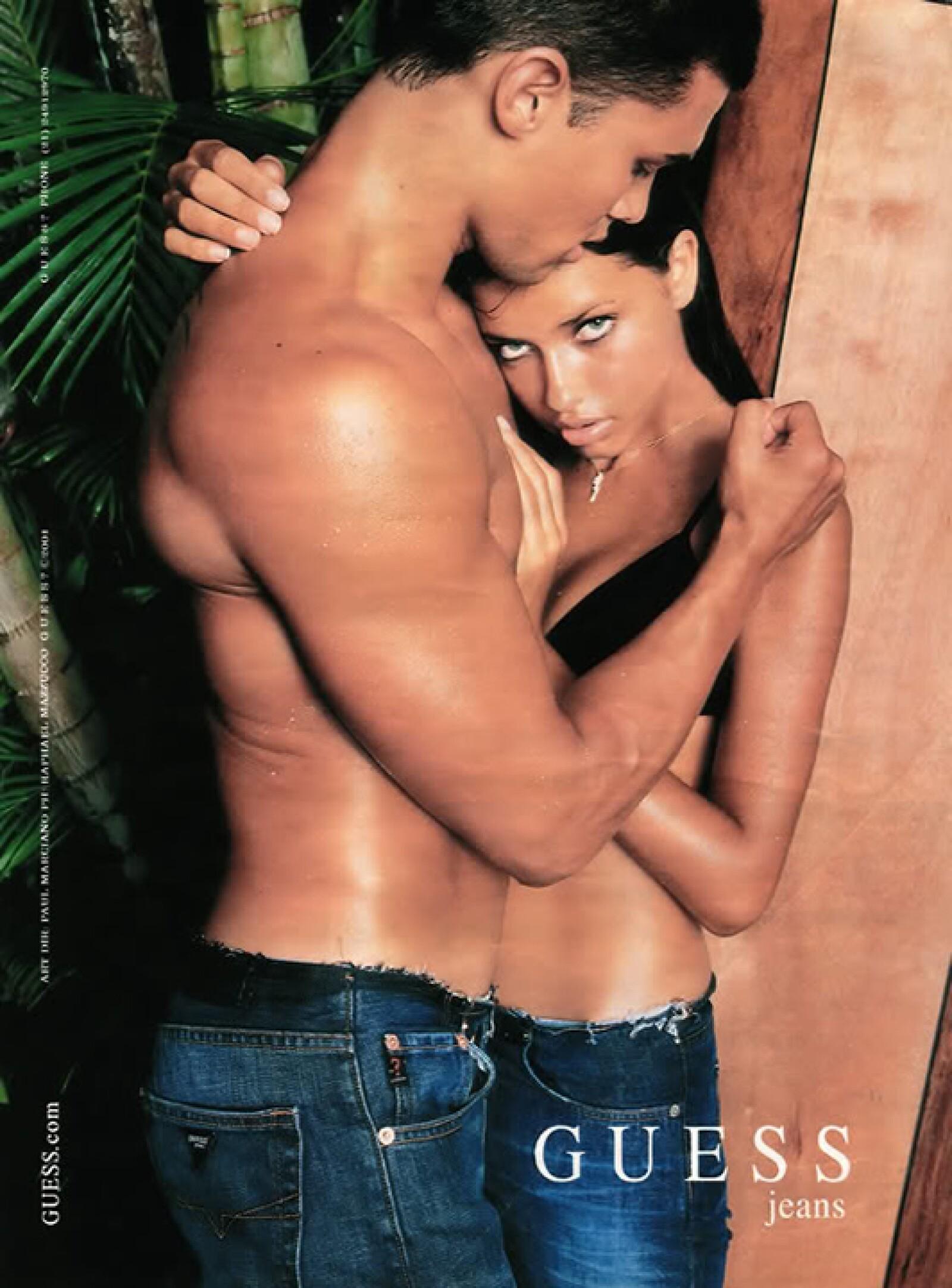 Sus fotos se convirtieron en una de las campañas más sexy de la firma.