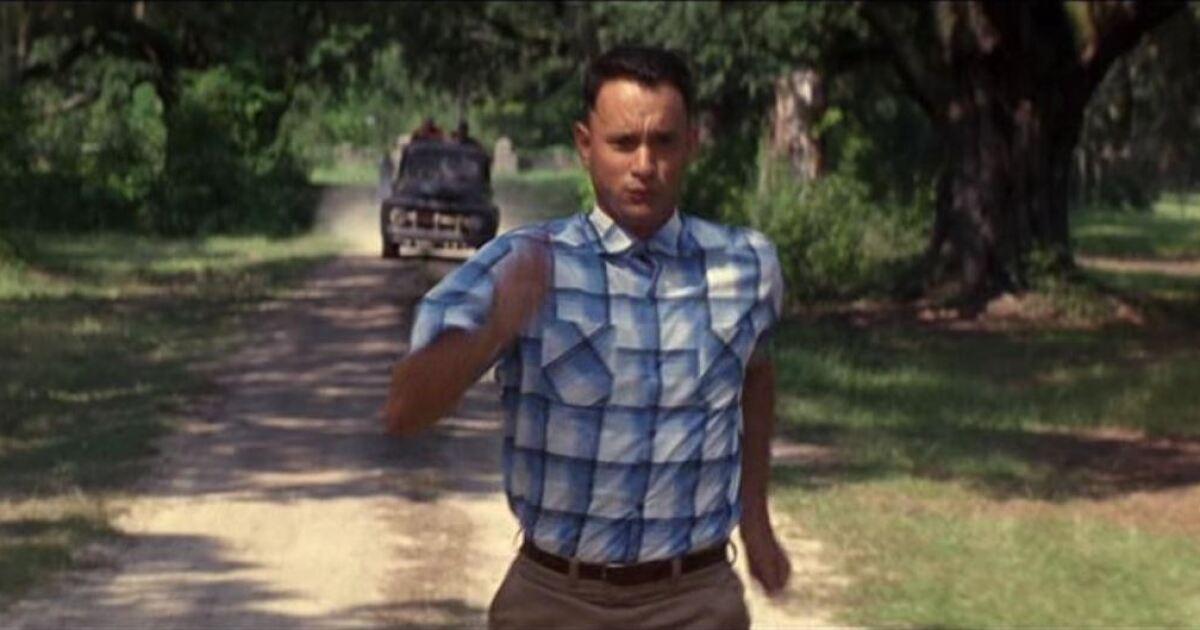 Tom Hanks pagó con su dinero la escena más emblemática de 'Forrest Gump'