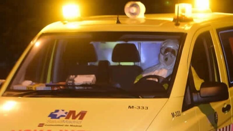 españa ebola ambulancia