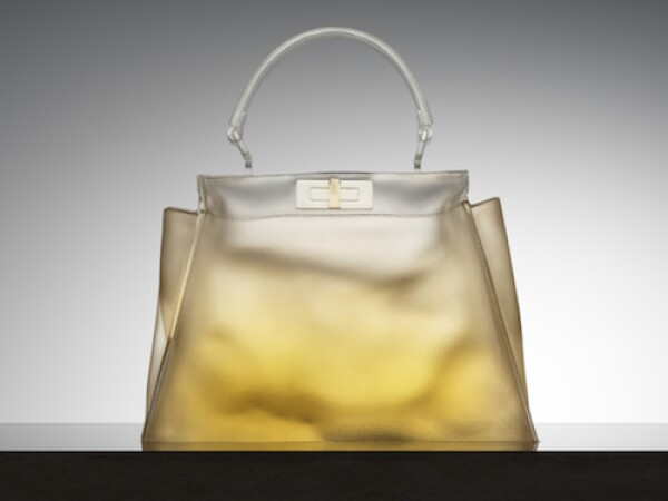 Silvia Venturini Fendi created a limited-edition Peekaboo handbag for the Miami store. Courtesy
