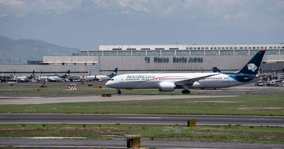Aeroméxico alcanza un acuerdo de arrendamiento de aviones por hora