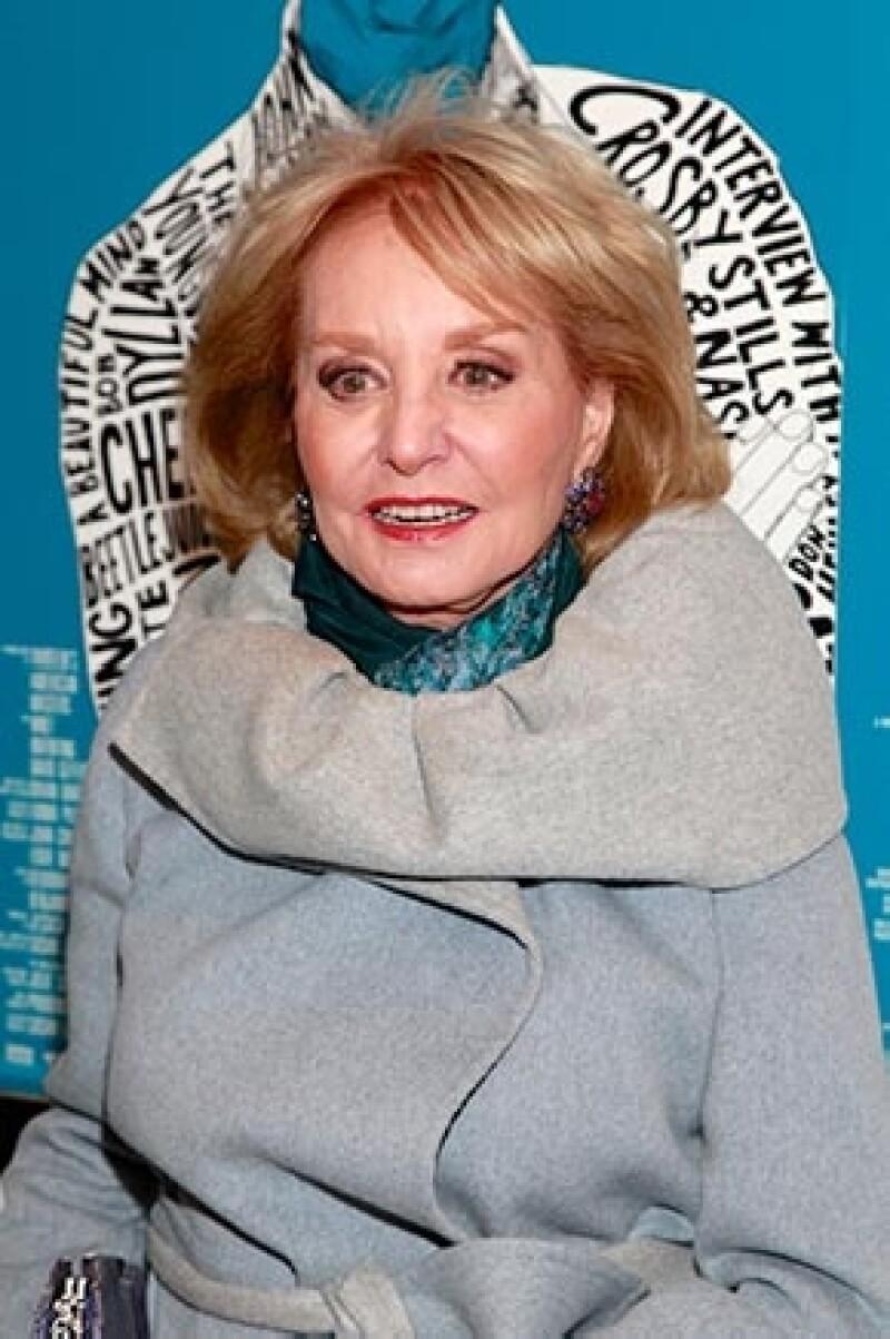 Lindsay aseguró sentirse muy apenada con Barbara Walters, pues hay una amistad entre ellas.