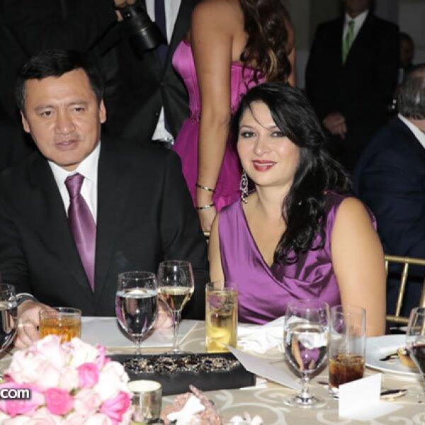 Miguel Ángel Osorio Chong (Secretario de Gobernación),Laura Vargas de Osorio