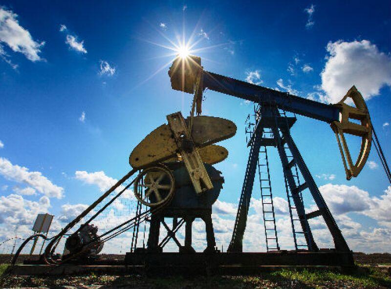 bomba de pozo petrolero