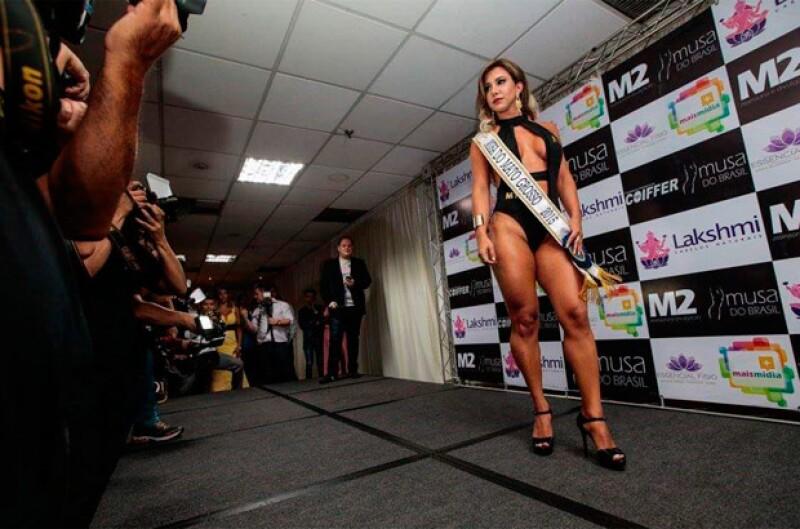 Ella había sido una de las finalistas de Musa Do Brasil.