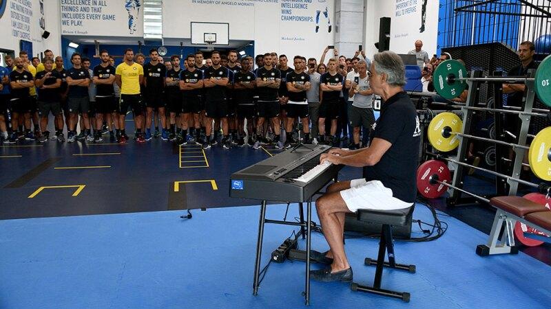 Andrea Bocelli Inter de Milan
