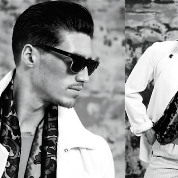Conocido por su estilo clásico, este modelo estadounidense ha participado en campañas de Louis Vuitton y Aldo. Su primer trabajo fue en playboy donde salía con ropa puesta.