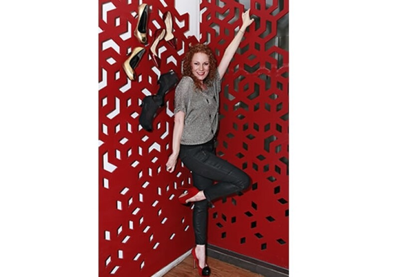 Daniela Magún es amante de los zapatos y en ellos se basa para lograr un outfit que la haga ver radiante en cualquier ocasión.