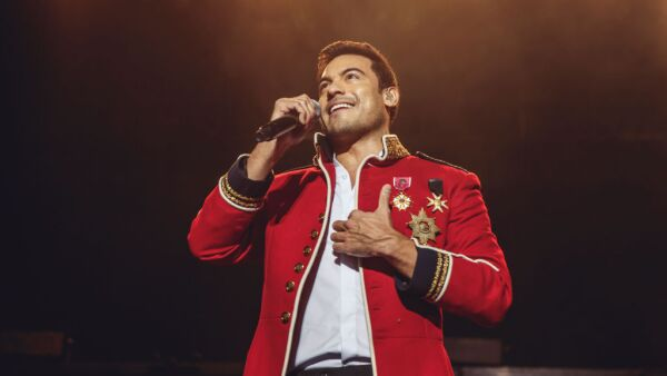 Carlos Rivera Performs In Concert In Madrid