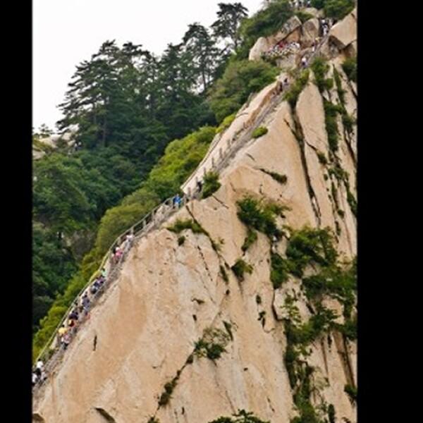 Monte Huashan Celestial Escaleras, China