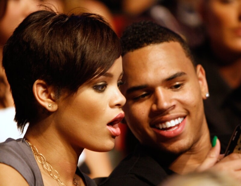En 2008 Chris y Rihanna se volvieron una de las parejas más seguidas por los paparazzi.