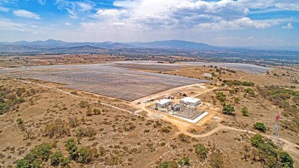 Central Fotovoltaica El Guajiro - Hidalgo