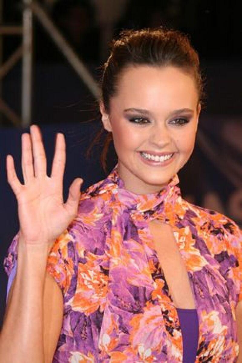 La cantante española se prepara para integrarse a las actividades del Teletón en México.
