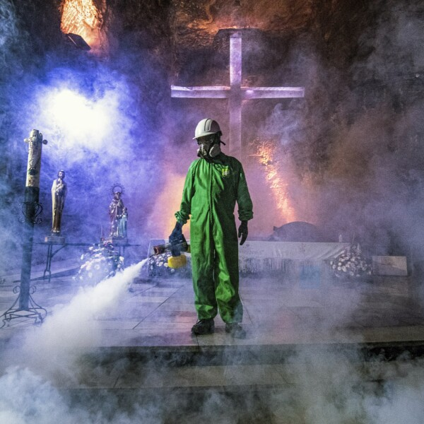 COLOMBIA-HEALTH-VIRUS-TOURISM-SALT-CATHEDRAL