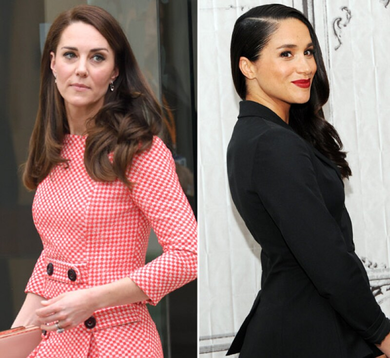 Kate and Meghan Markle