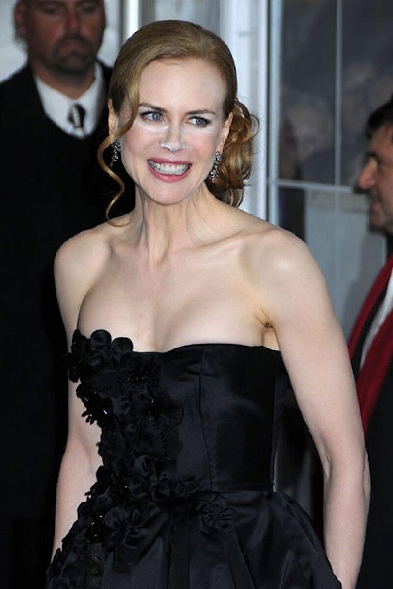 Parece que a Nicole Kidman le hizo falta mirarse una última vez al espejo antes de salir de casa...