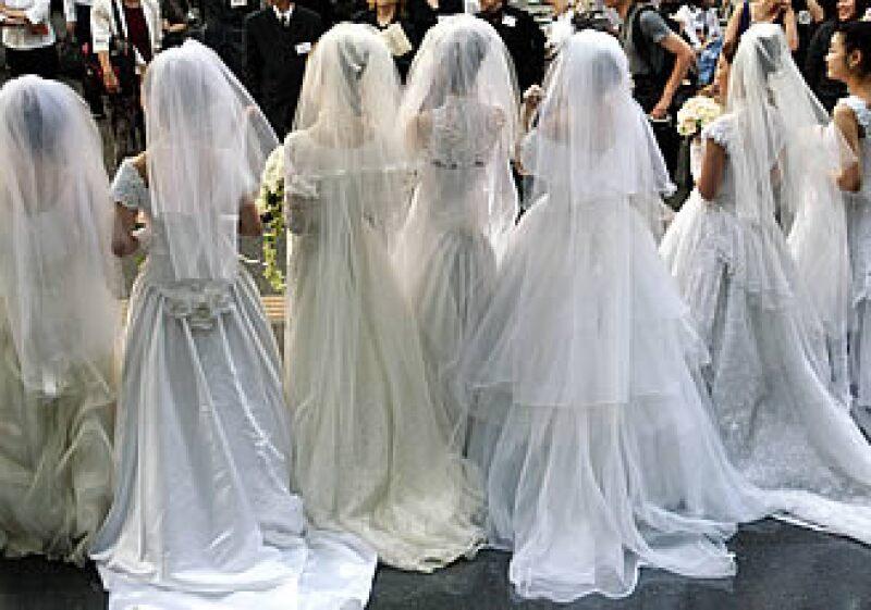 El valor de la industria de bodas disminuirá 30% en los próximos cinco años.  (Foto: Especial)