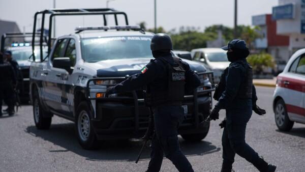 Policías de Veracruz