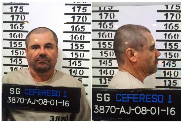 Mugshot del Chapo