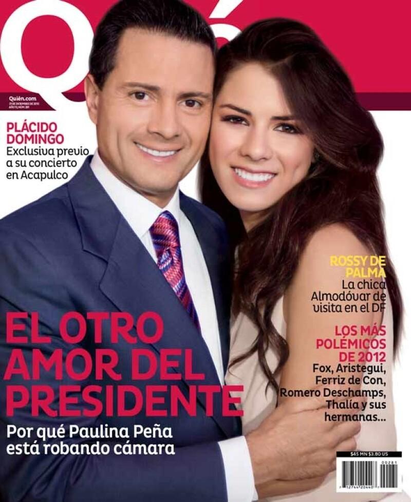 En la nueva edición de la revista Quién te decimos por qué la hija del presidente de México está robando cámara.