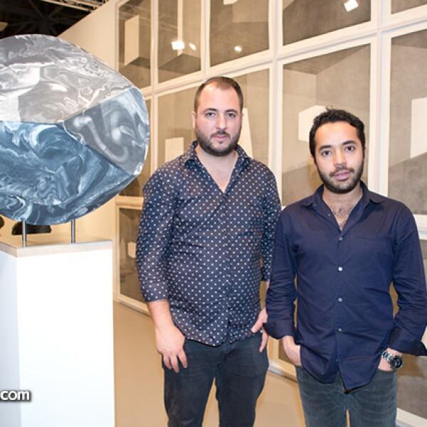 Victor Martínez y Alex Bracho