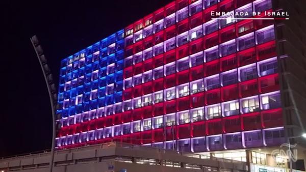 El mundo rinde homenaje a las víctimas del tiroteo en Las Vegas