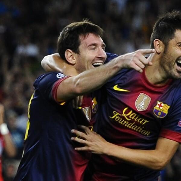 Barcelona vs. Spartak Moscú 0
