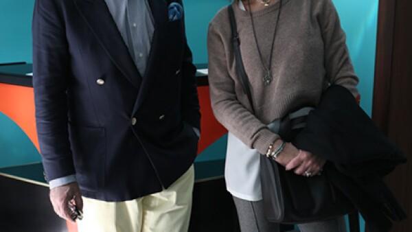 Alfonso de Bustos y Cecilia Barón