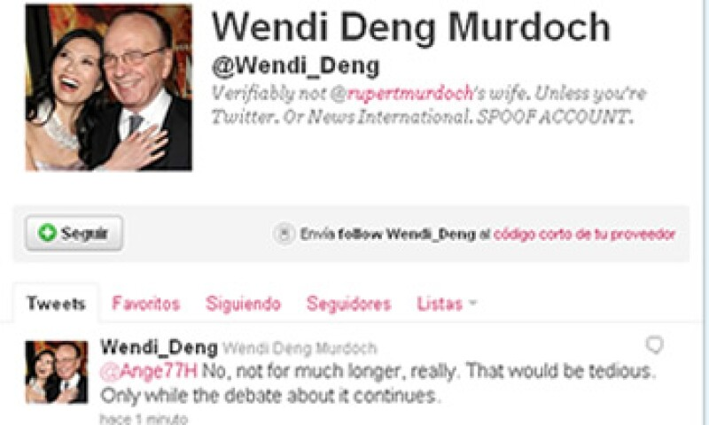 La vocera de Twitter dijo que la empresa ofrecía disculpas por la confusión. (Foto: Tomada de Twitter)