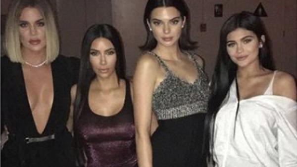 Kylie Jenner, Kendall Jenner, Kim Kardashian.