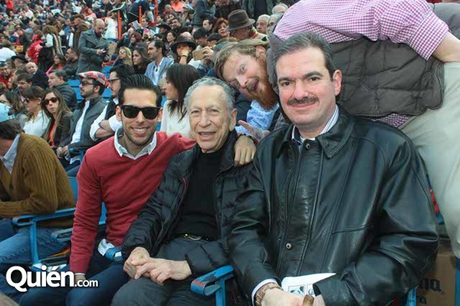 Benjamín Caldwell,Manolo Ruiz Cantú,Guillermo Cantú y Mario Medouchi
