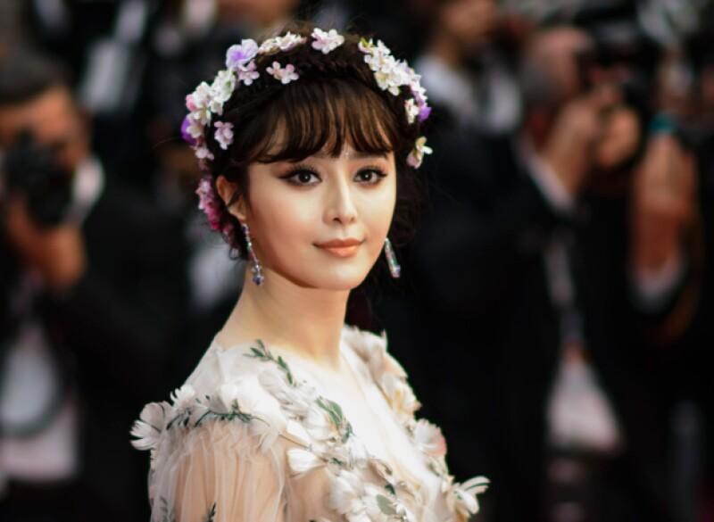 Fan Bingbing es la única actriz china que figura en la lista.