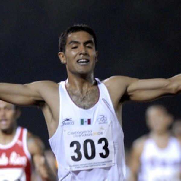 Juan Luis Barrios gana en atletismo